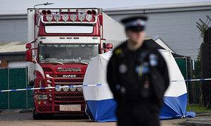 Cảnh sát Anh đã thông báo cho gia đình 39 nạn nhân
