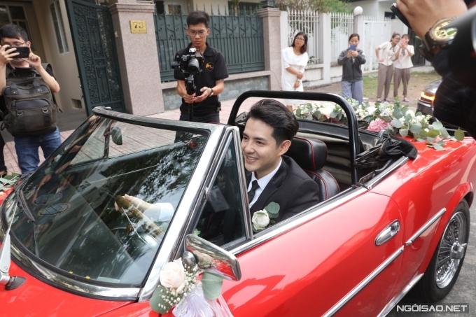 Lễ rước dâu của ca sĩ Đông Nhi