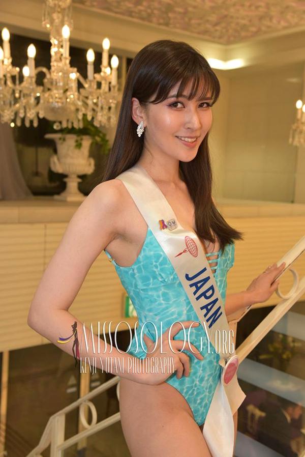 Người đẹp nước chủ nhà Nhật Bản.