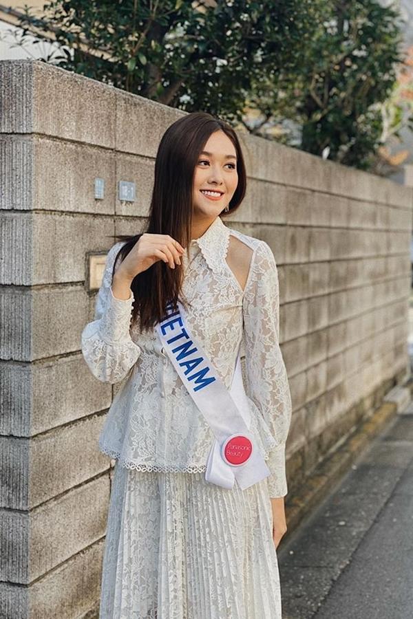 Thời tiết Nhật Bản trở lạnh nên Tường San ý thức giữ gìn sức khỏe, tập luyện cho chung kết.