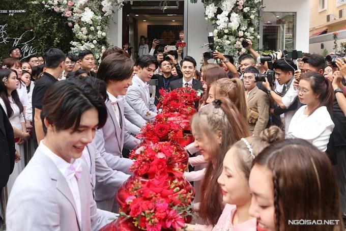 Lễ rước dâu của ca sĩ Đông Nhi - 5