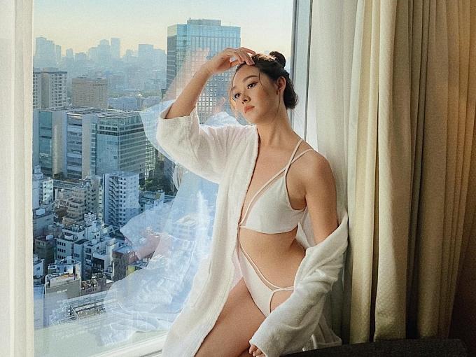 Tường San là Á hậu 2 Hoa hậu Thế giới Việt Nam 2019 và đại diện nước nhà dự thi Miss International 2019nCô 19 tuổi,cao 1,71m,số đo 82-62-95.