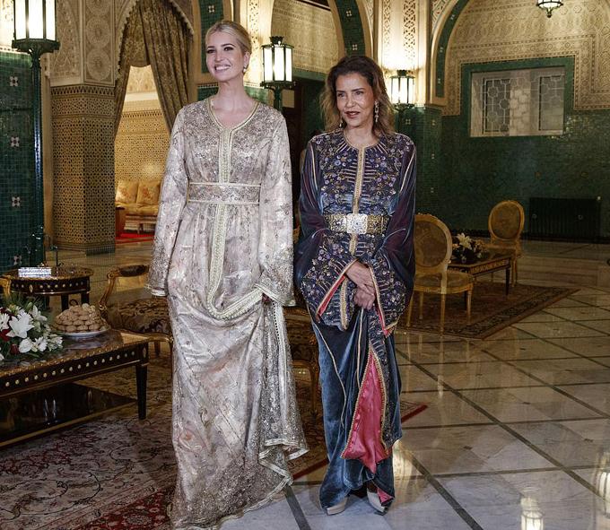 Ivanka Trump dùng bữa tối với công chúa Morocco