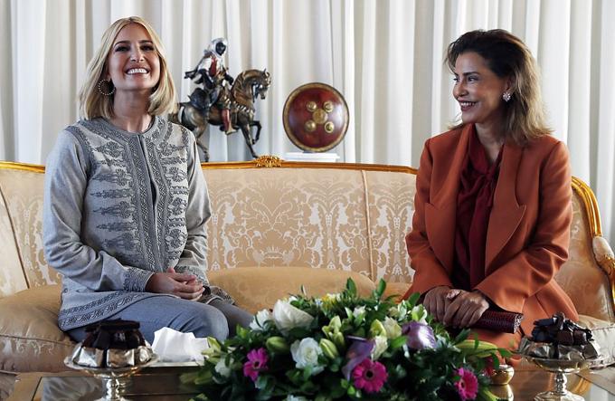 Ivanka Trump dùng bữa tối với công chúa Morocco - 6