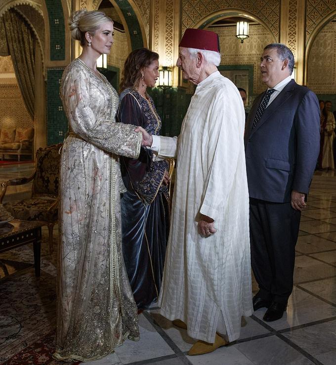 Ivanka Trump dùng bữa tối với công chúa Morocco - 3