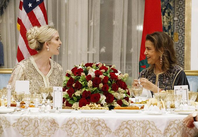 Ivanka Trump dùng bữa tối với công chúa Morocco - 5
