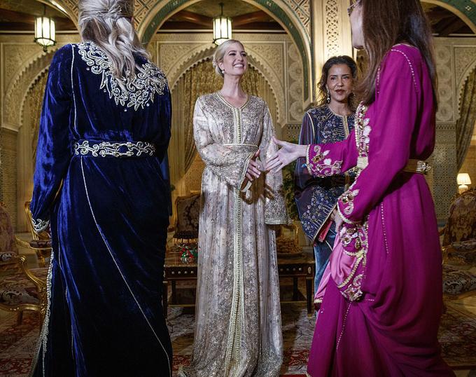 Ivanka Trump dùng bữa tối với công chúa Morocco - 2