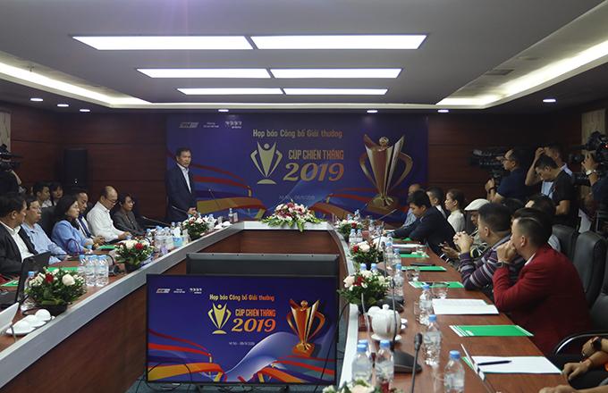 Buổi họp báo khởi độnggiải thưởng Cup Chiến thắng 2019.