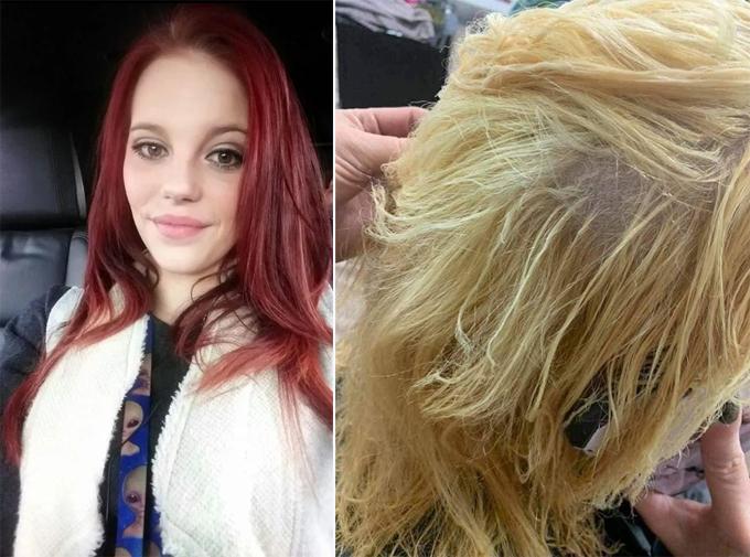 Sau nhiều năm để tóc màu trầm, Eden muốn quay lại với mái tóc vàng tự nhiên.