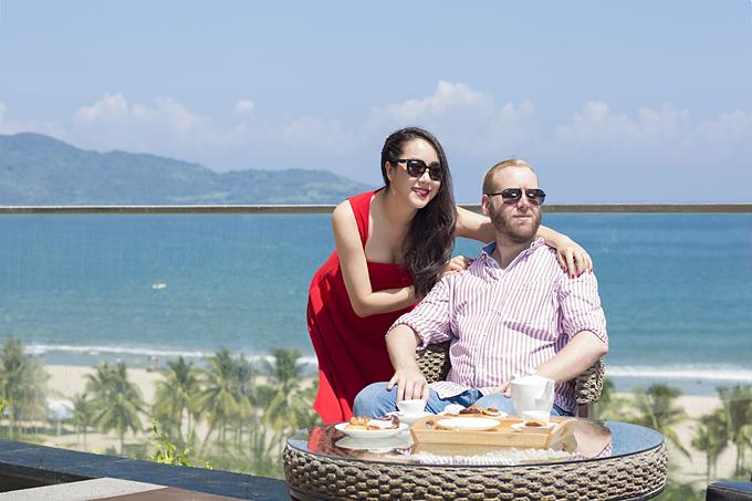 Hoa hậu Ngô Phương Lan là một trong những khách hàng đầu tiên của dự án.