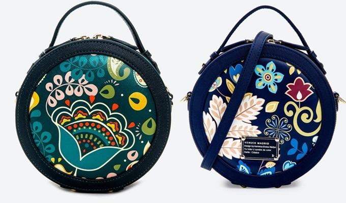 Túi trống tròn thêu hoa chinh phục nhiều chị em nhờ kiểu dángtrẻ trung,bắt mắt