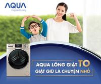 Ưu điểm của máy giặt Aqua lồng giặt lớn - 2