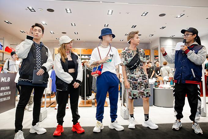 Đông đảo sao Việt và các fashionista có mặt tại sự kiện ra mắt cửa hàng MLB, vừa được tổ chức bởi công ty Maison với sự đồng hành của thương hiệu The Singleton.