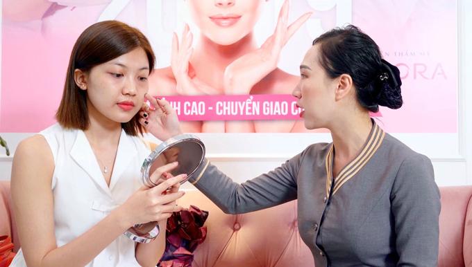 Viện thẩm mỹ Adora là địa chỉ Lương Thanh tin tưởng lựa chọn để phục hồi làn da sau dự án phim Hoa hồng trên ngực trái