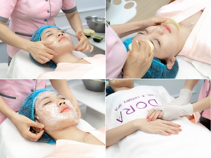 Quy trình chăm sóc da với công nghệ Adosilk Collagen mà Lương Thanh tin tưởng lựa chọn.