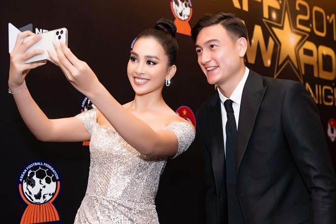 Đỗ Mỹ Linh, Tiểu Vy gặp gỡ Đặng Văn Lâm - 1