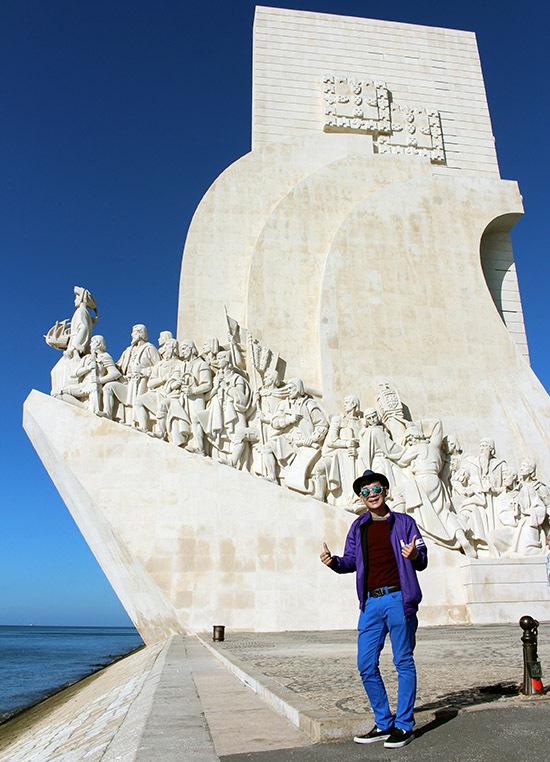 Đoan Trường rất thích không khí và phong cảnh yên bình ở Bồ Đào Nha.