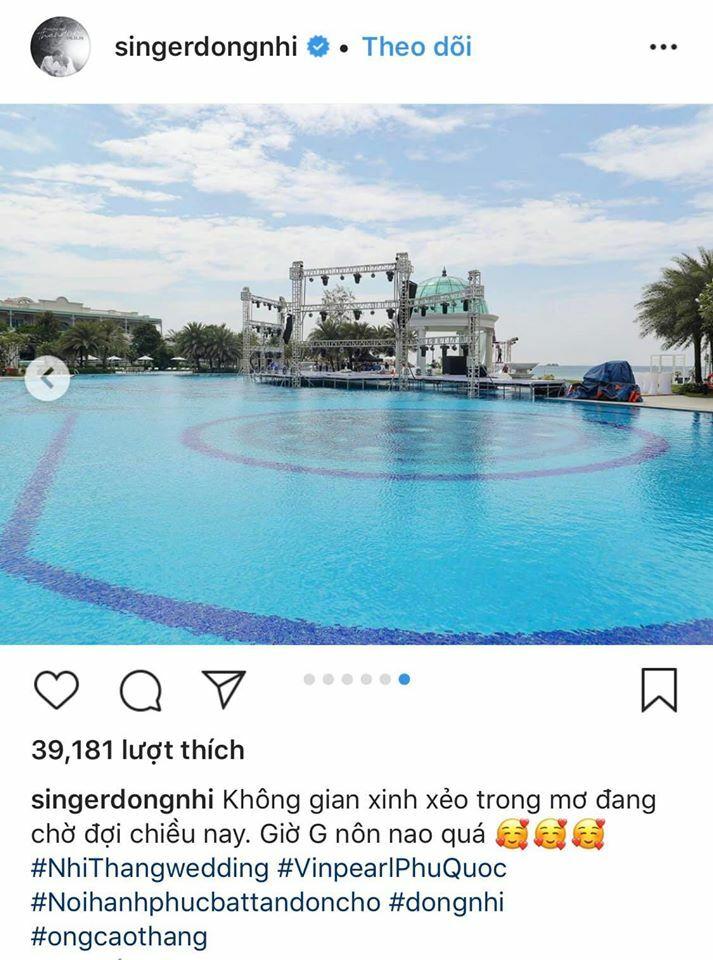 Dàn sao đua check-in địa điểm đám cưới Đông Nhi – Ông Cao Thắng - 5