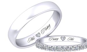 Lộ diện cặp nhẫn cưới của Đông Nhi- Ông Cao Thắng