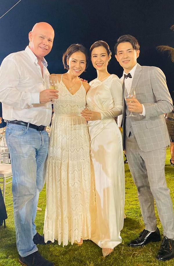 Thu Minh và ông xã dự cưới Đông Nhi, Ông Cao Thắng.