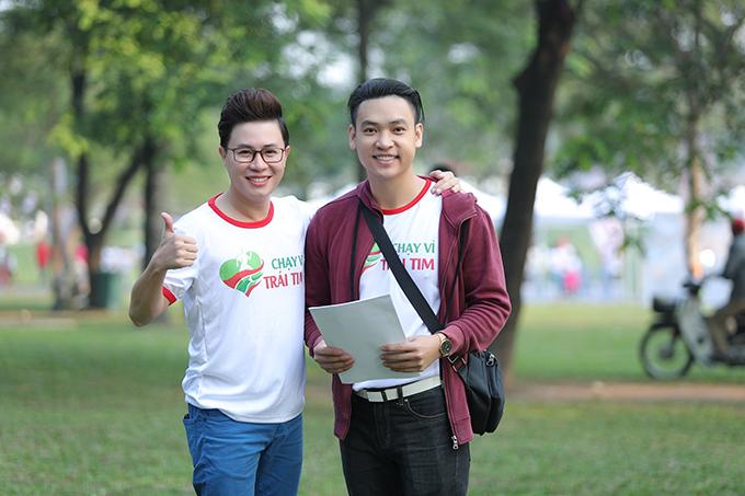 Ca sĩ kiêm diễn viên Duy Khoa cũng tham dự sự kiện này.