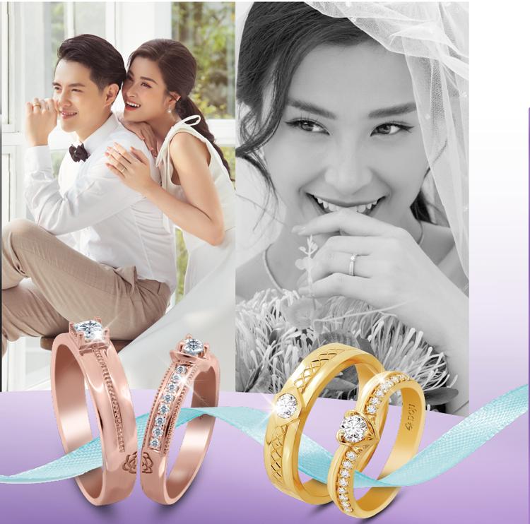 Cơ hội trúng iPhone 11 và vàng 9999 khi mua nhẫn cưới DOJI - 1