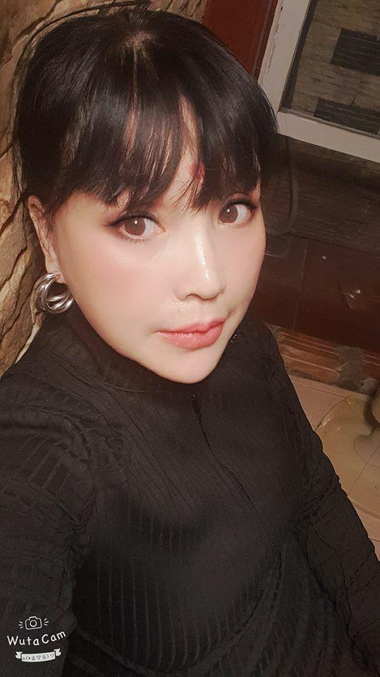 NSND Lan Hương khẳng định gương mặt mình trở nên khác lạ vì công nghệ chỉnh ảnh.