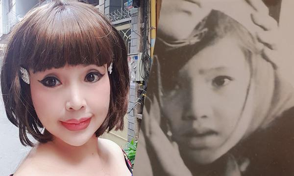 Nhan sắc của NSND Lan Hương hiện tại và khi đóng Em bé Hà Nội.