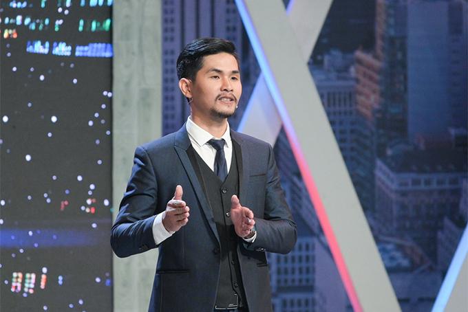 Ứng viên Nguyễn Kiến Trúc thuyết phục các sếp tại chương trinh Cơ hội cho ai.