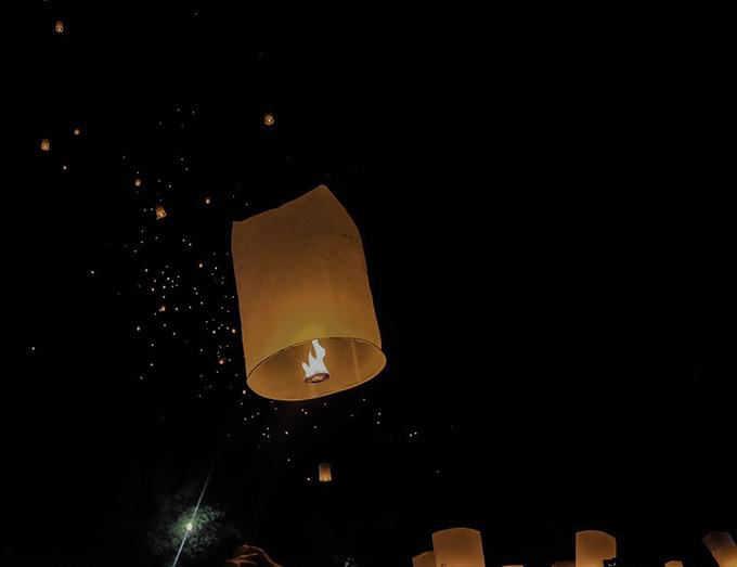 Blogger Thắng Cuội lễ đèn trời Thái Lan - 8