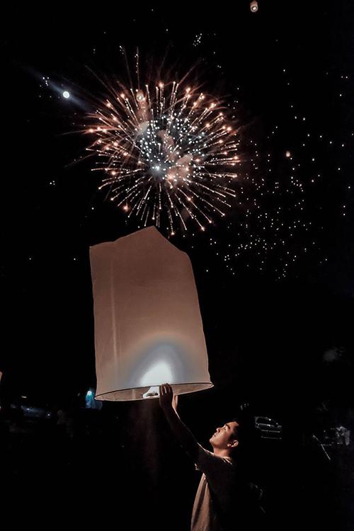 Blogger Thắng Cuội lễ đèn trời Thái Lan - 2