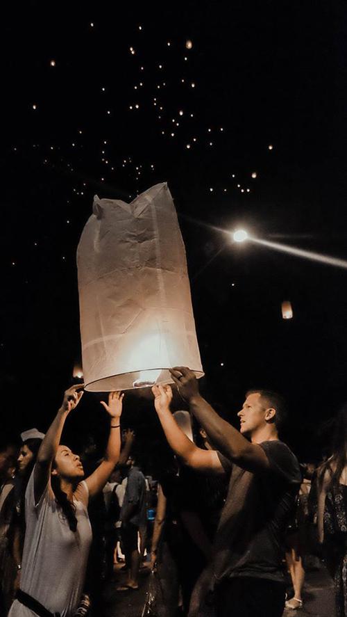 Blogger Thắng Cuội lễ đèn trời Thái Lan - 3