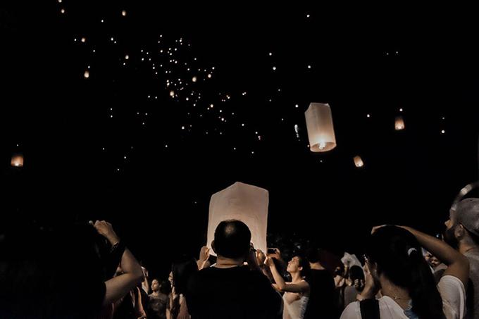 Blogger Thắng Cuội lễ đèn trời Thái Lan - 9