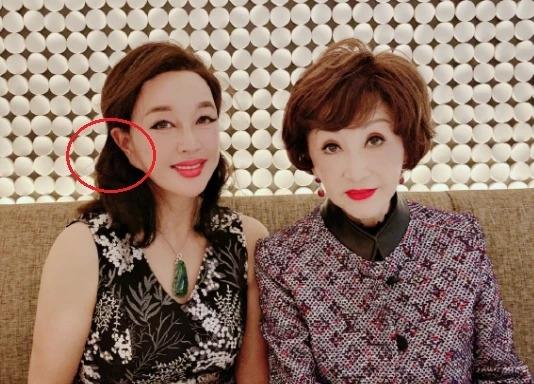 Tấm ảnh của Lưu Hiểu Khánh được chia sẻ trên mạng xã hội.