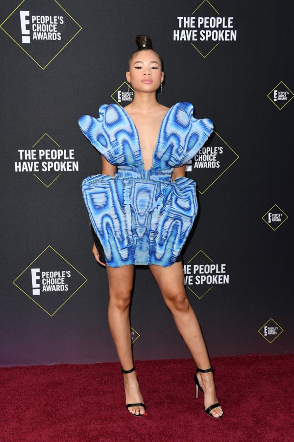 Ngôi sao phim truyền hình Euphoria Storm Reid.