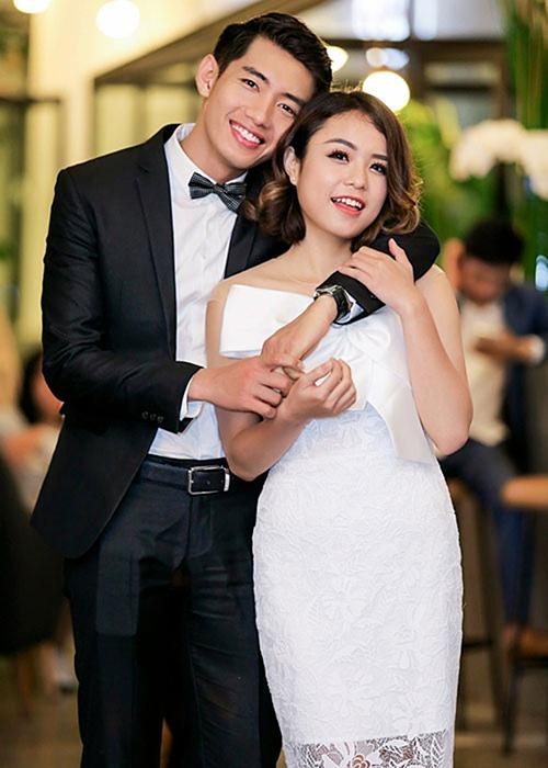 Quang Đăng và Thái Trinh khi còn yêu nhau.