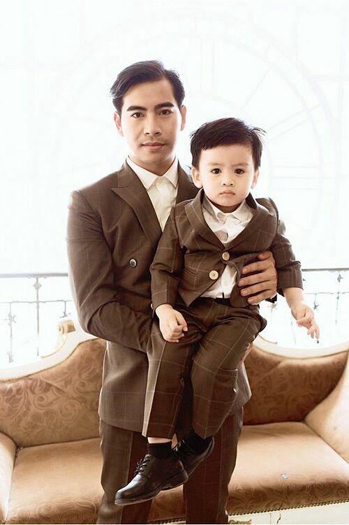 Thanh Bình mong con trai mạnh mẽ.