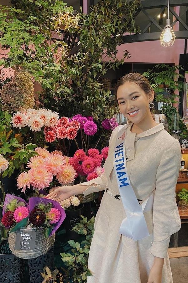 Nguyễn Tường San sinh năm 2000, quê Hà Nội. Sau khi đoạt Á hậu 2 Hoa hậu Thế giới Việt