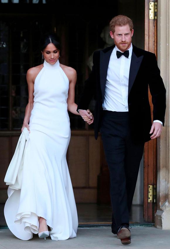 Nàng dâu hoàng gia diện tác phẩm do con gái danh ca Paul McCartney thực hiện, tối 19/5/2018.