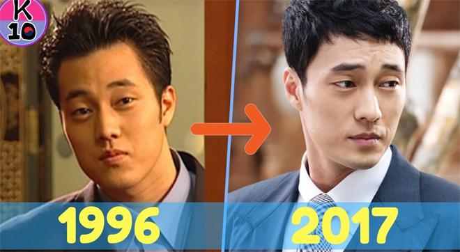 Nhìn lại ảnh của So Ji Sub thời còn trai trẻ, hẳn nhiều người thừa nhận Ai rồi cũng khác.