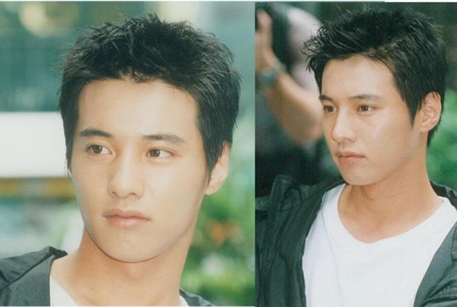 Gương mặt điển trai của Won Bin một thời.