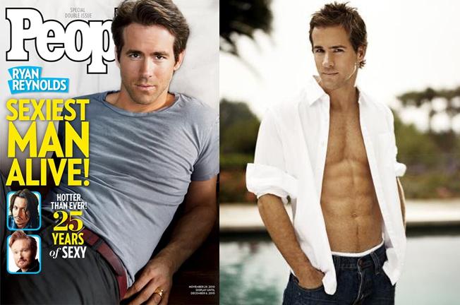Năm 2010, danh hiệu Sexiest Man Alive (Người đàn ông đương đại sexy nhất) được trao cho tài tử Deadpool Ryan Reynolds. Anh là người Canada đầu tiên được tạp chí People vinh danh.
