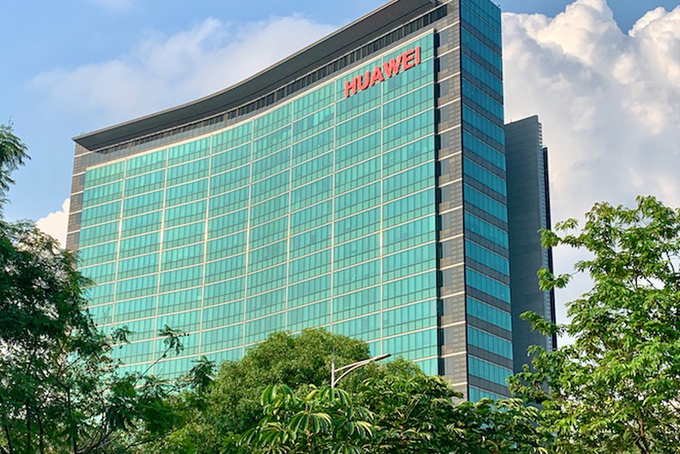 Trụ sở chính của Huawei tại thành phố Thâm Quyến, Trung Quốc. Ảnh: BI.