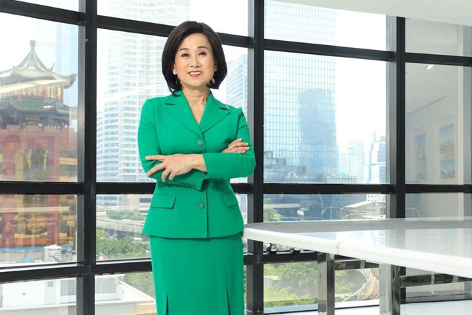 Jirata Songmetta, chủ tịch công ty Absolute Clean Energy Pcl và cũng là một trong những thành viên của gia tộc tỷ phú mới. Ảnh: Bloomberg.