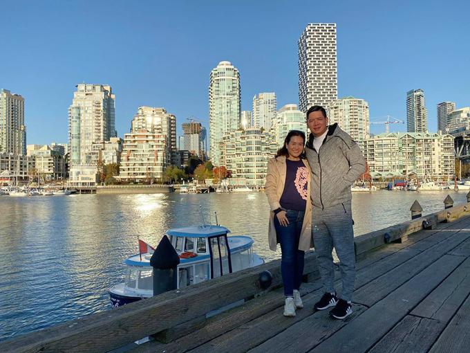 Vợ chồng Bình Minh đi Canada đón sinh nhật - 8