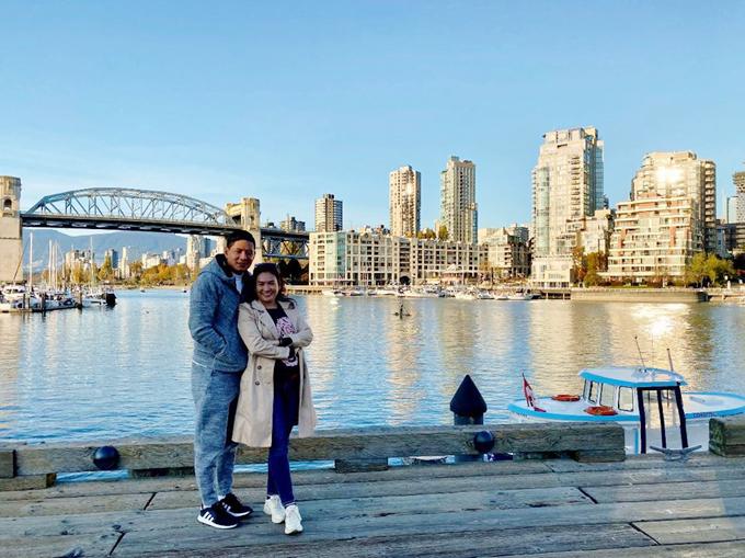 Vợ chồng Bình Minh đi Canada đón sinh nhật - 9