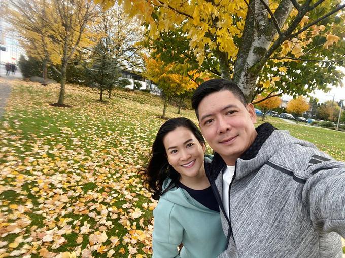 Vợ chồng Bình Minh đi Canada đón sinh nhật - 1