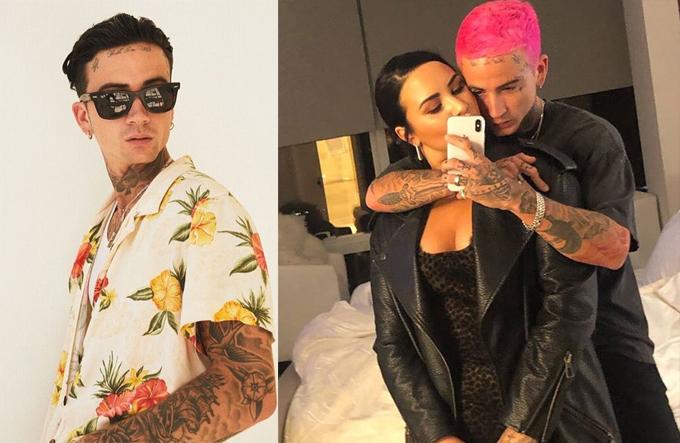 Austin Wilson chia sẻ ảnh chụp cùng Demi Lovato.