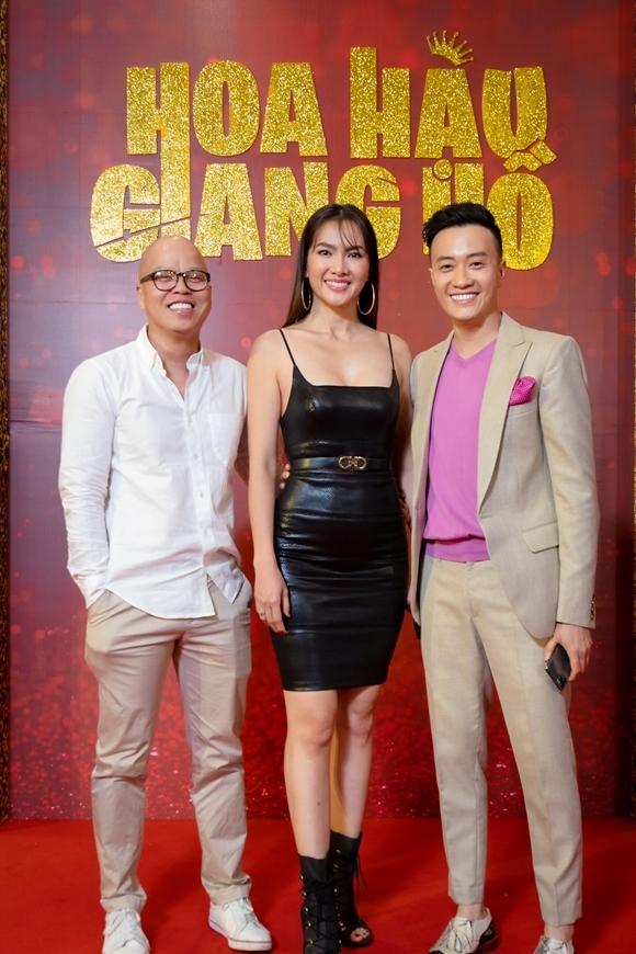Hai diễn viên tái ngộ đạo diễn Vũ Ngọc Đãng.