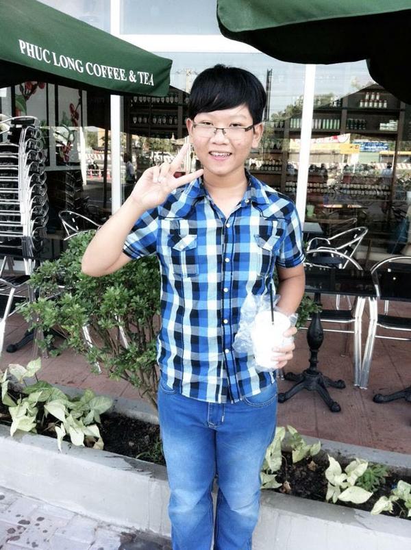 Hình ảnh của NgọcAnh khi còn đi học.